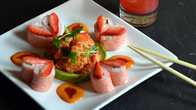 Top 11 Sushi Made For Valentines Day POGOGI Japanese Food