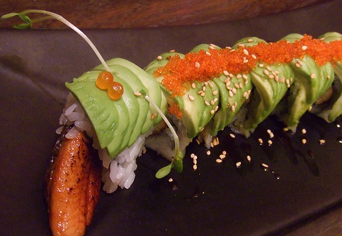 The Caterpillar Roll | POGOGI Japanese Food