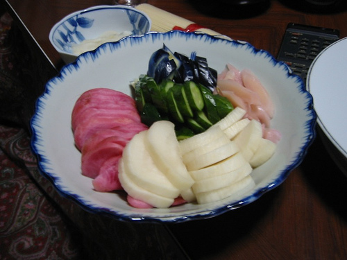 japanese pickles by nyaa_birdies_perch, on Flickr
