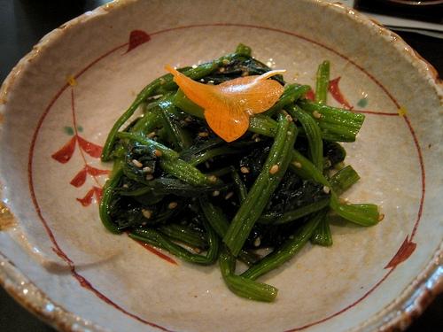 recipe gomaae japanese spinach salad with sesame dressing  pogogi japanese food