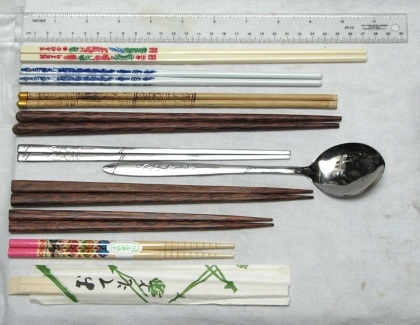 Difference types of Chopsticks