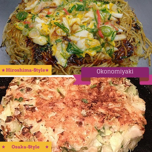 Understand how different is Osaka and Hiroshima Okonomiyaki