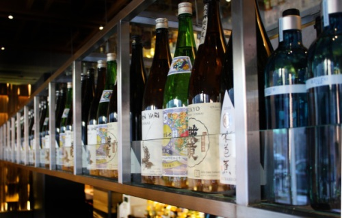 Roka Sake bottles (Tenzing Wine and Spirits, Chicago)