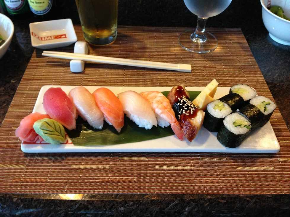 Sushi on the Seas, Royal Caribbean's Allure of the Seas
