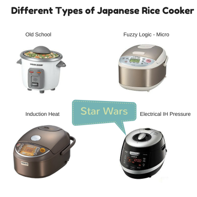 Japanese Rice Cookers Variety