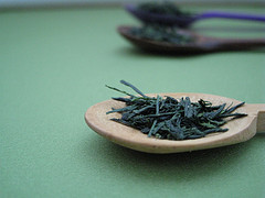 Gyokuro Tea Leaves by Breville USA, on Flickr