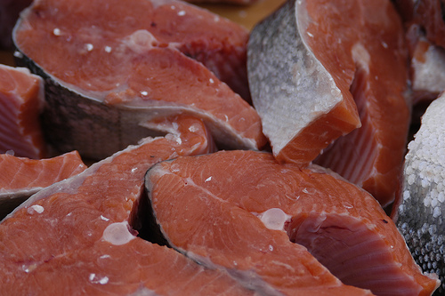 salmon by Andrea Pokrzywinski, on Flickr