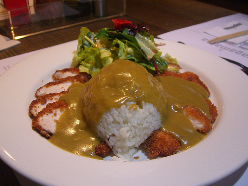 Chicken Katsu Curry with Rice - Wagamama by avlxyz