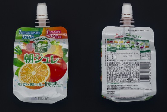 Fruit Jelly Space Food for Japan Space Travel