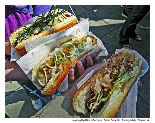 Japadog Big Bite by stephenccwu, on Flickr