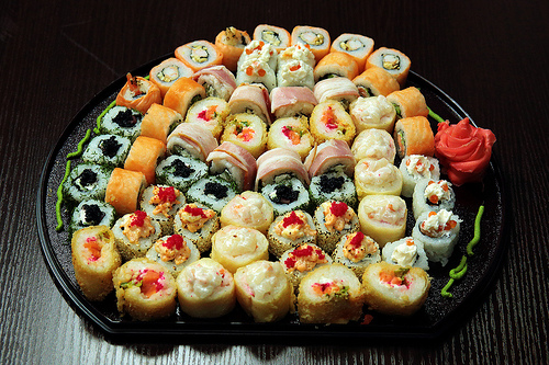 Sushi Set by Yuri Samoilov Photo, on Flickr