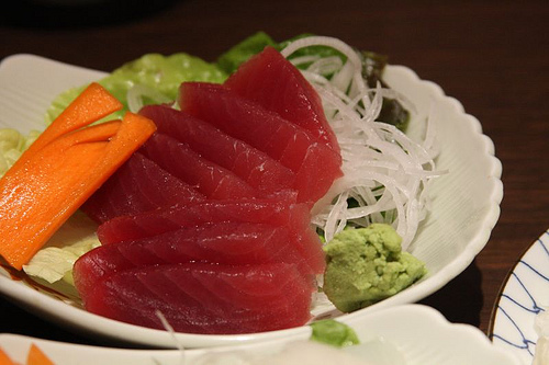 Maguro (Tuna) Sashimi by www.bluewaikiki.com, on Flickr
