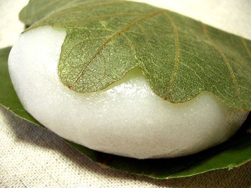rice cake / 柏餅 by Kanko*, on Flickr