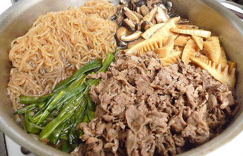 Sukiyaki by arnold | inuyaki, on Flickr