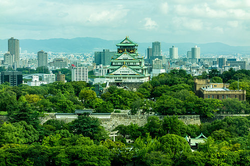 Osaka Castle by Yoshikazu TAKADA, on Flickr