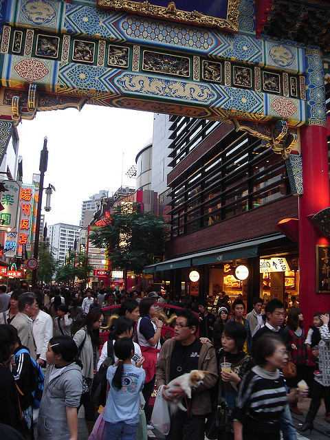 Yokohama Chinatown by mdid, on Flickr