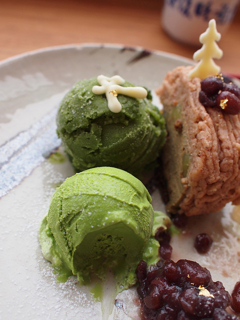 Green Tea Ice cream by Marco Ooi, on Flickr
