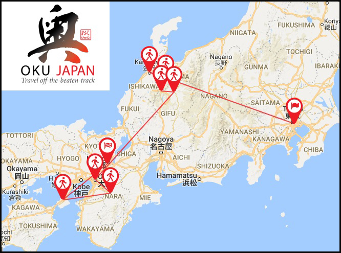 Questions With Oku Japan Tours POGOGI Japanese Food - Japan map questions