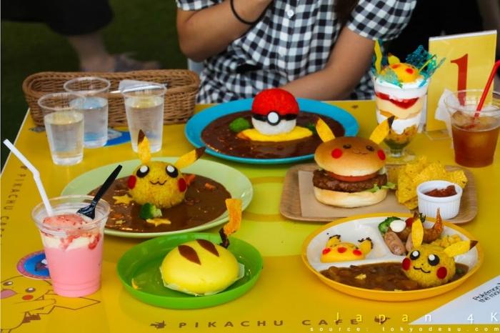 Pokemon themed cafe does exist pogogi japanese food for Pokemon cuisine